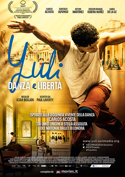 Locandina italiana Yuli - Danza e libertà