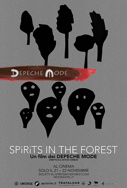 Trailer Depeche Mode - Spirits in the Forest