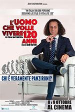 Poster L'Uomo che Volle Vivere 120 Anni  n. 0