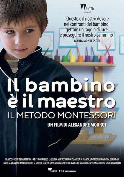 Locandina italiana Il bambino è il maestro - Il metodo Montessori