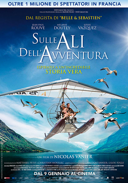 Locandina italiana Sulle ali dell'avventura