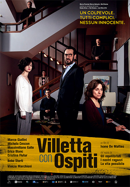 Locandina italiana Villetta con ospiti