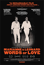 Poster Marianne & Leonard - Parole d'amore  n. 1