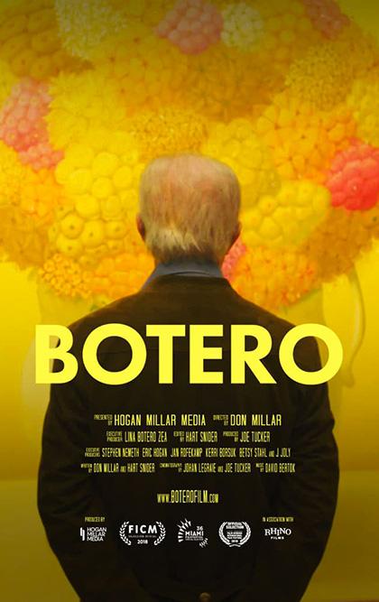 Poster Botero - Una ricerca senza fine