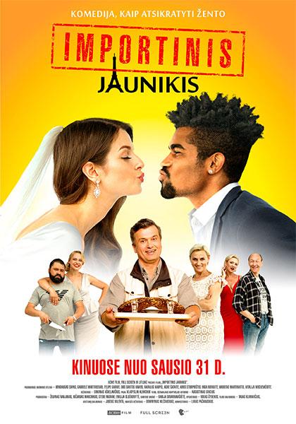 Trailer Importinis Jaunikis