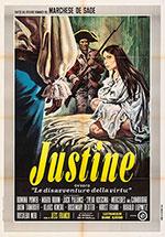 Poster Justine, ovvero le disavventure della virtù  n. 0