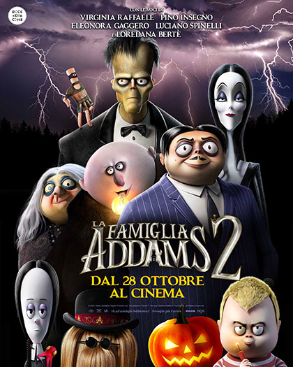 Locandina italiana La famiglia Addams 2