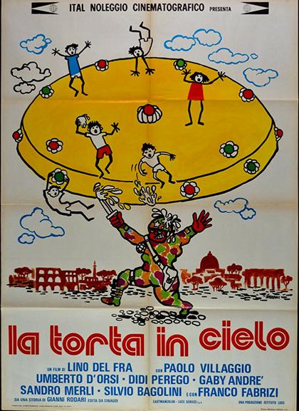 Locandina italiana La torta in cielo