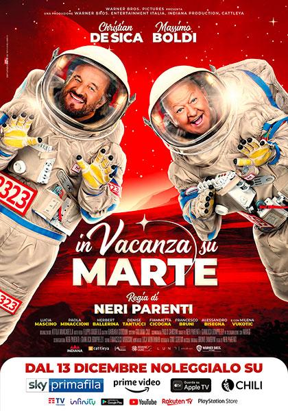 Locandina italiana In vacanza su Marte