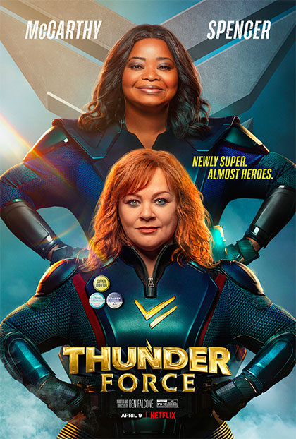 Thunder Force - Film (2021) - MYmovies.it