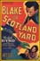 Poster Blake of Scotland Yard