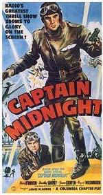 Poster Captain Midnight  n. 0