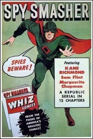 Locandina italiana Spy Smasher