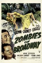 Poster Zombies on Broadway  n. 0