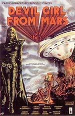 Locandina Devil Girl From Mars