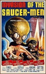 Locandina Invasion of the Saucer-Men