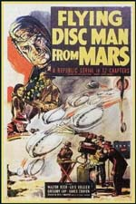 Poster Flying Disc Man From Mars  n. 0