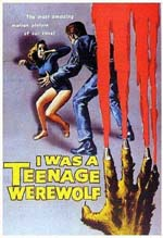 Poster I Was a Teenage Werewolf  n. 0