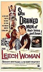 Poster The Leech Woman  n. 0