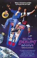 Locandina Bill & Ted's Excellent Adventure