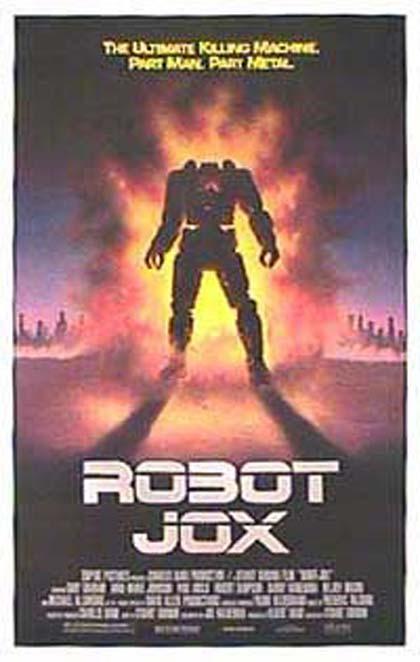 Locandina italiana Robot Jox