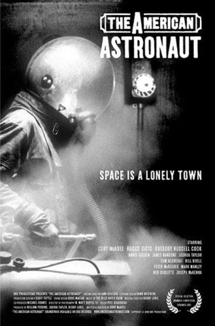 Poster The American Astronaut