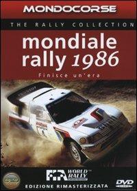 Trailer Mondiale Rally 1986