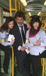 Feisbum: sorpresa su un tram di Roma