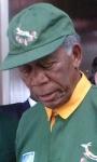 Invictus: prime immagini di Morgan Freeman come Mandela