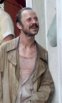 The Rum Diary: Johnny Depp sotto la pioggia