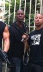 Fast Five: Diesel, Walker, Ludacris, Kang e Gibson sul set