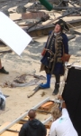 Pirates of the Caribbean: On Stranger Tides, prime foto di Jack Sparrow