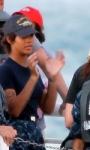Battleship: prime foto di Rihanna e Taylor Kitsch