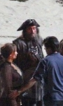 Pirates of the Caribbean: On Stranger Tides, Depp sul set di Greenwich