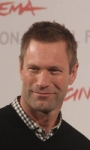 Il photocall e il red carpet di Aaron Eckhart